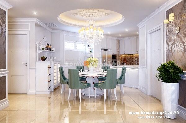 phòng bếp nội thất chung cư