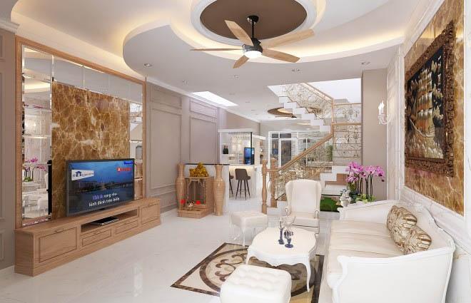 Trang trí không gian nội thất chủ đạo cho ngôi nhà