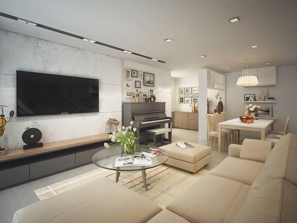 dịch vụ thiết kế nội thất chung cư hiện đại