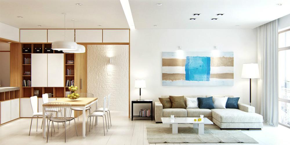 căn hộ được thiết kế bởi dịch vụ thiết kế nội thất chung cư