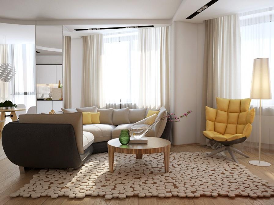 Thiết kế nội thất phong cách hiện đại độc đáo