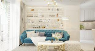 sử dụng ánh sáng trong thiết kế nội thất chung cư cao cấp