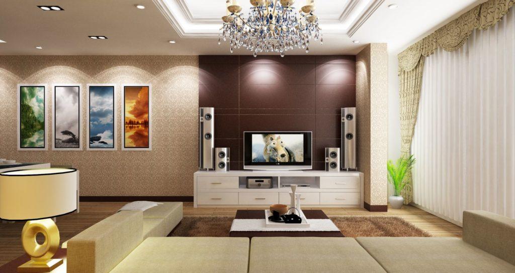 hướng không gian ra thiên nhiên khi thiết kế nội thất chung cư cao cấp