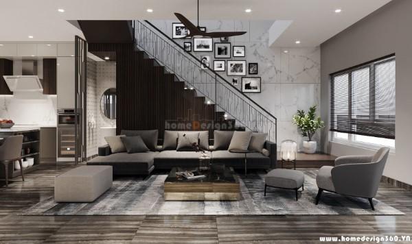 Thiết kế nội thất chung cư phong cách
