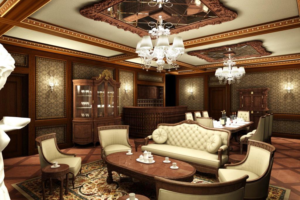 Thiết kế nội thất chung cư-phong cách cổ điển