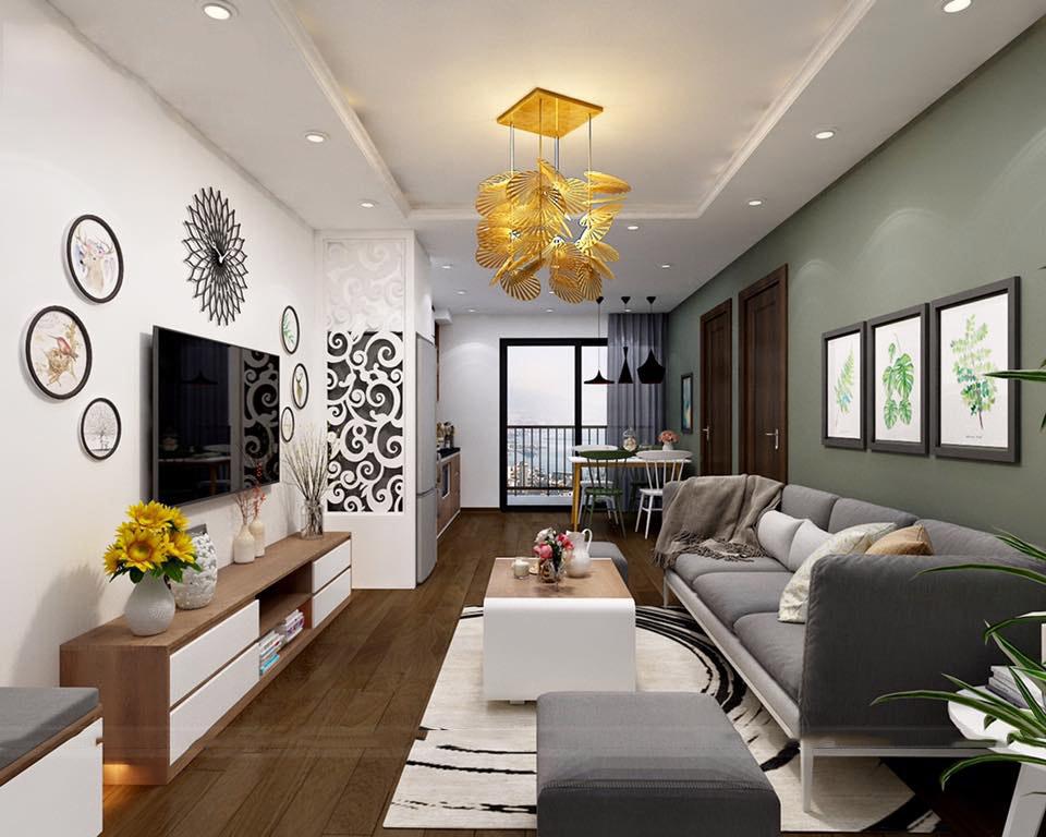 thiết kế nội thất biệt thự mini theo phân bổ không gian