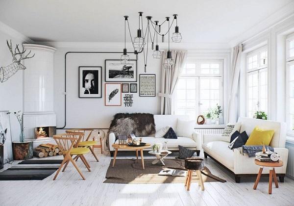 Thi công nội thất- Scandinavian
