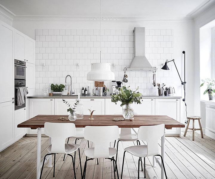 Thi công nội thất Scandinavian style
