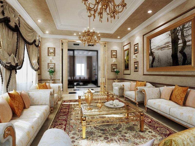 Thi công nội thất phong cách Classicism