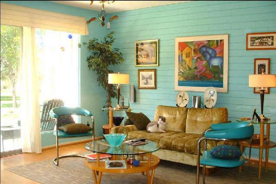 Thiết kế nội thất chung cư-phong cách retro