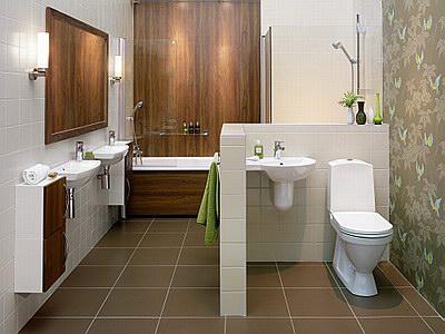 Thiết kế nôi thất nhà vệ sinh đẹp