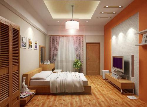 Thiết kế nội thất trần thạch cao cấp giật