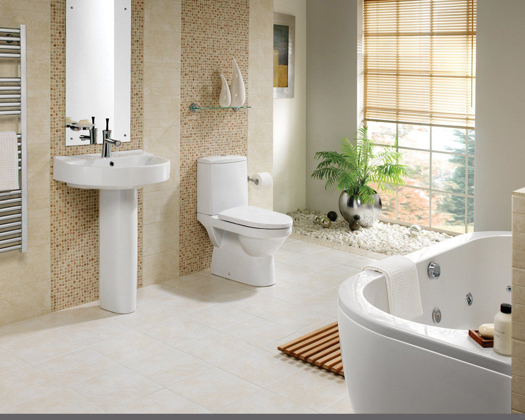 Thiết kế nội thất- phòng vệ sinh đẹp
