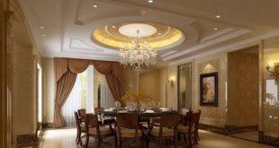 Thiết kế nội thất- trần thạch cao