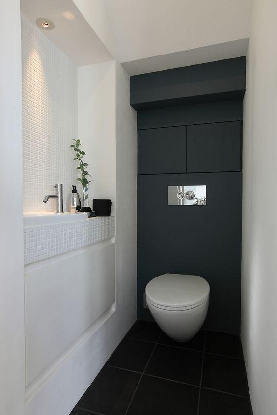 Thiết kế nội thất nhà vệ sinh 2m2