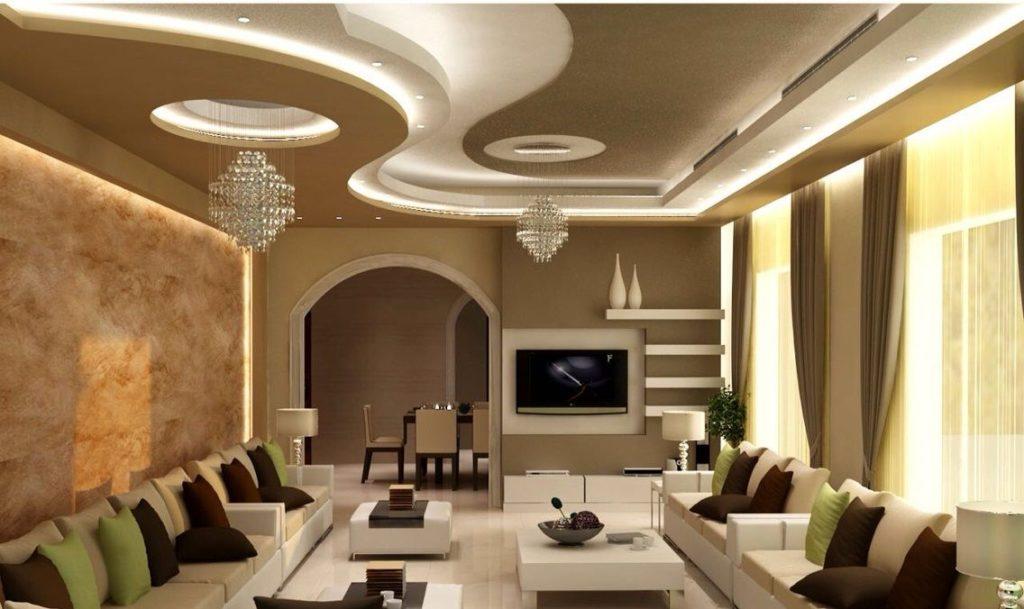 Trần thạch cao đẹp- thiết kế nội thất