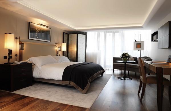 Thiết kế nội thất giường ngủ khách sạn