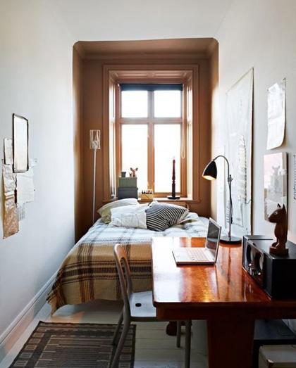 Thiết kế nội thất phòng ngủ nhỏ hẹp