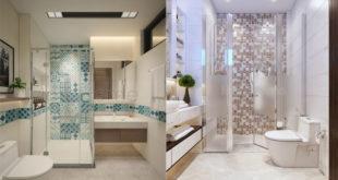 Thiết kế nội thất nhà vệ sinh tiên nghi
