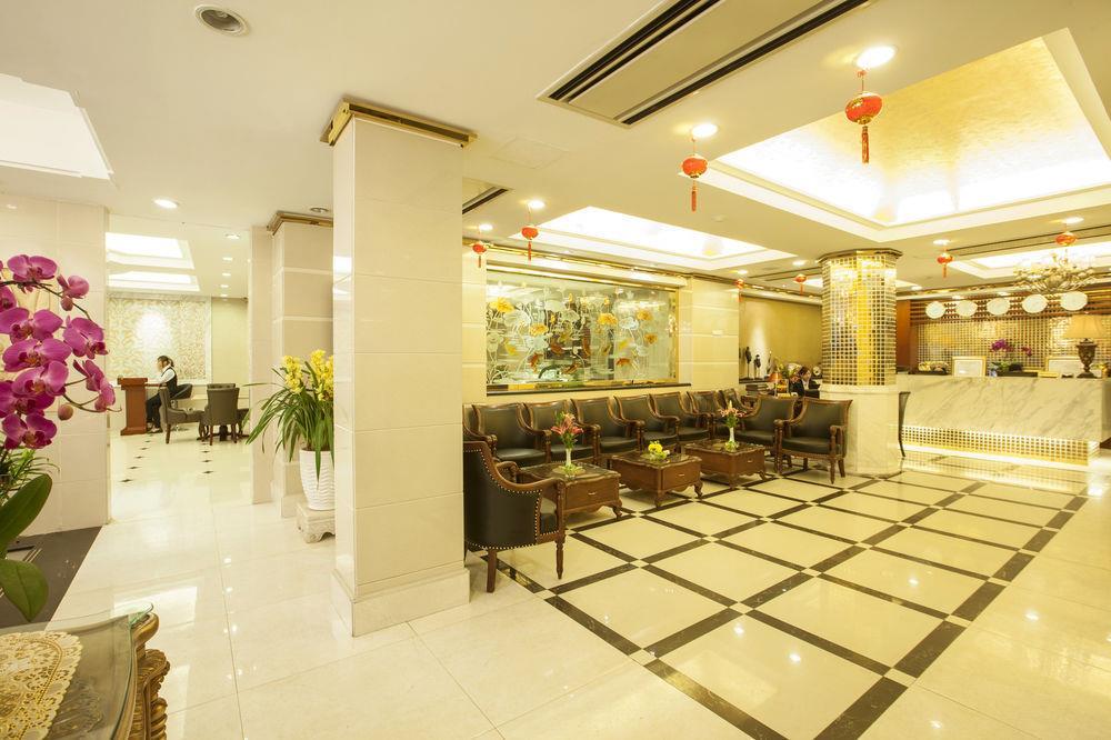 Thiết kế nội thất sảnh đón khách sạn