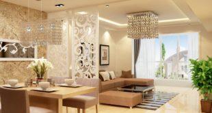 Thiết kế nội thất với vách ngăn CNC